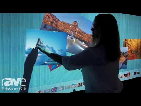 InfoComm 2016: Optoma Shows EH320USTi Interactive Projection System