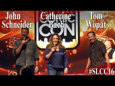 Tom Wopat, John Schneider, Catherine Bach - Dukes of Hazzard Reunion Panel/Q&A - SLCC 2016