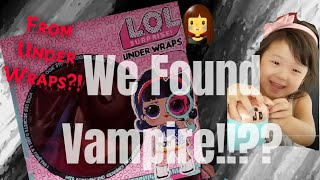 L.O.L Surprise Dolls Vampire Style From Under Wraps Found by Sista Happy Times Review