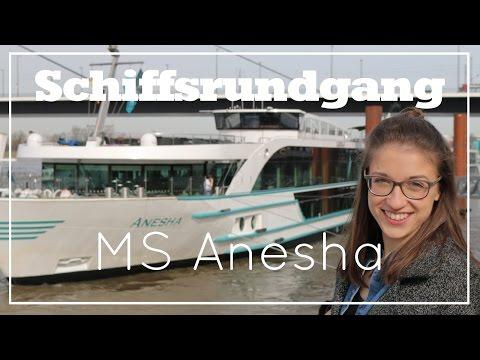 MS Anesha - Schiffsrundgang - Flusskreuzfahrt (Phoenix Reisen)