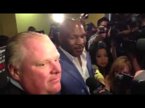 Mike Tyson on Rob Ford