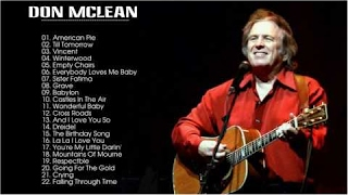 Best Of Don Mclean Don Mclean Greatest Hits Full