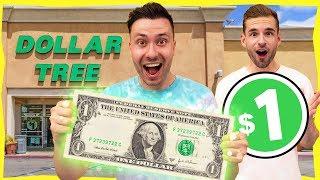 1 DAG LEVEN VAN 1 DOLLAR PRODUCTEN IN AMERIKA! ($1 Experiment)