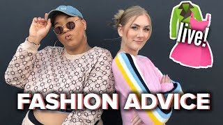 Jazz and Lindsay Answer Your Burning Style Questions • LIVE