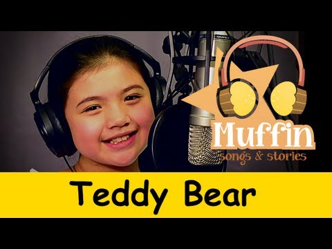 Muffin Songs - Teddy Bear   | nursery rhymes & children songs with lyrics