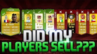 DID MY PLAYERS SELL? GETTING READY FOR THE BLUE CARDS FIFA 15 ULTIMATE TEAM