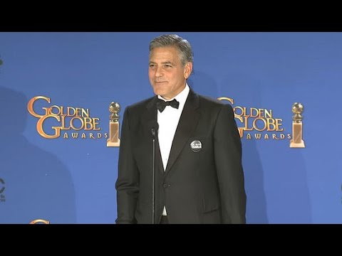 George Clooney Talks Amal Clooney and Wearing His Wedding Tux to the Golden Globes