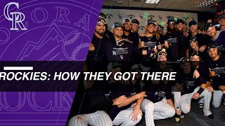 How They Got There: Colorado Rockies