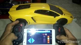Wifi arduino rc car with gamepad controller