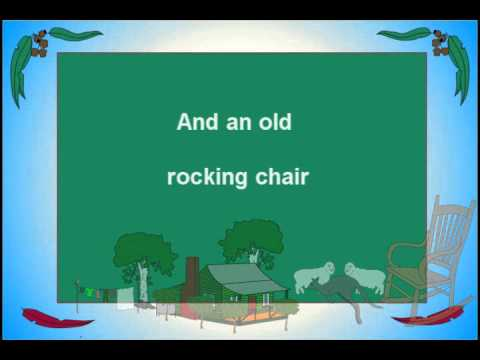 Give Me a Home Among the Gumtrees by Bob Brown co writer/original singer of this famous song