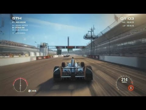 Grid 2 Indianapolis in a Indy car !!! HD1080P Gameplay / PS3 Xbox 360 PC
