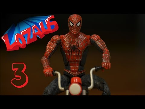 SPIDERMAN Stop Motion Action Video Part 3