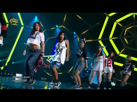 【TVPP】SISTAR - Hey you, 씨스타 - 헤이 유 @ Comeback Stage, Show Music core Live