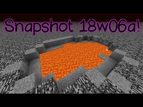 Snapshot 18w06a- New World Generation!