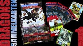 Dragons - Panini ® Trading Card Game - Sammelkarten Box Unboxing 1 / 2015 Re-Upload