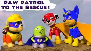 Paw Patrol Mighty Pups and Super Pups Rescue Stories with funny Funlings and Thomas Train TT4U