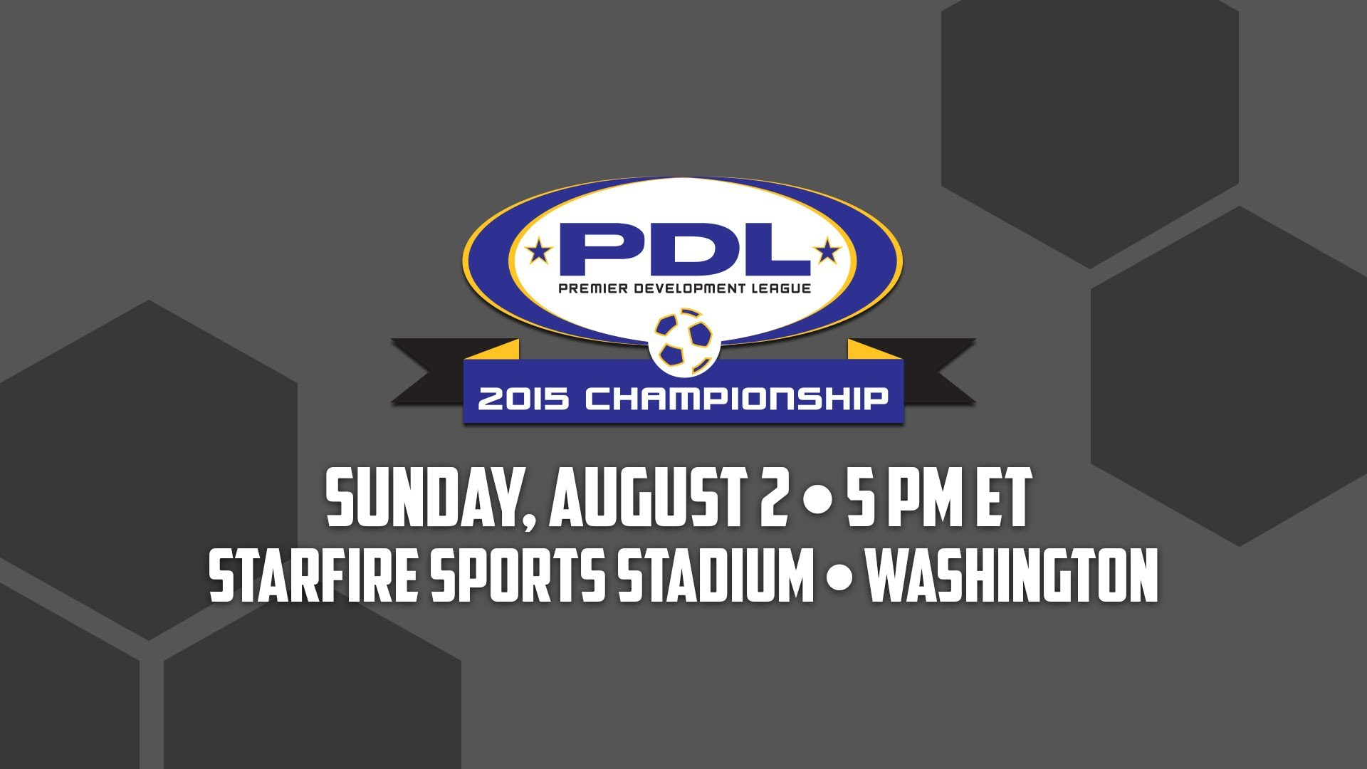 2015 PDL Championship - Presented By Nike