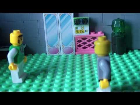 Прыжки при съемке лего мультиков