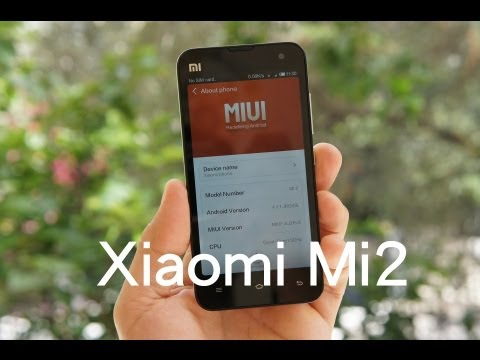 Xiaomi Mi2 hands-on (Greek)
