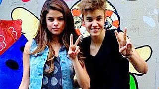 Top 10 Justin Bieber Selena Gomez Cute Moments
