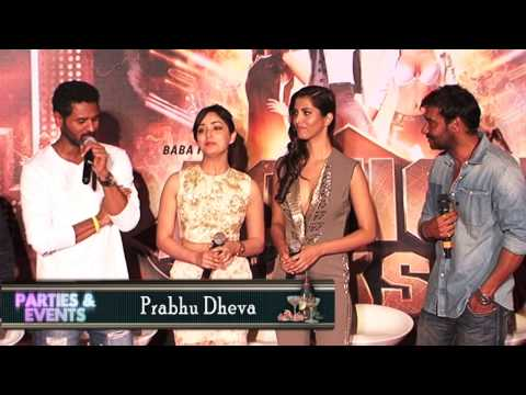 Ajay Devgn Yaami Gautam Manasvi Mamgai at first look promo launch of Action Jackson
