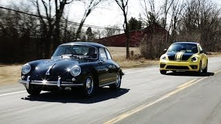 1964 Porsche 356 vs. 2014 Volkswagen Beetle GSR | THEN VS NOW