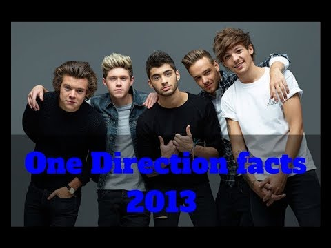 One Direction facts 2013 NEW