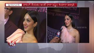 Bharat Ane Nenu Fame Kiara Advani Face To Face | The Statement Jewellery Expo | Hyderabad