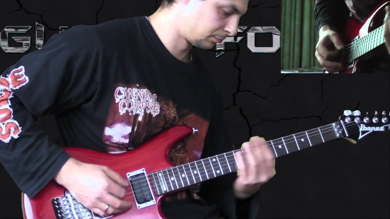 Obituary - Cause of Death - Metal Guitar Lesson (with TABS) - YouTube