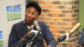 Pharrell Williams Interview: Talks Song Freedom & 9/11 Story | Elvis Duran Show