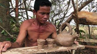 Primitive Culture: Teapot and Cup Tea