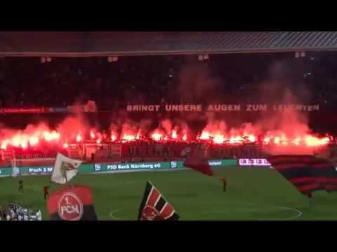 1 FC Nürnberg   VfB Stuttgart 2 0   Pyrointro Ultras94 Nordkurve Nürnberg   26 03 14