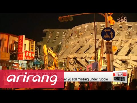 Taiwan court detains developers of building toppled in earthquake