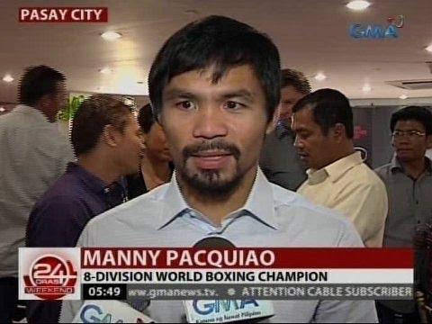 Manny Pacquiao, hindi kumbinsido sa hamon ni Floyd Mayweather, Jr.