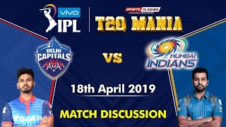 Delhi vs Mumbai   T20   Live Scores and Analysis (English)   IPL 2019