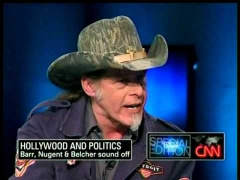 CNN Ted Nugent VS Rosanne 2011