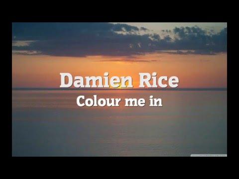 Damien Rice - Colour Me In (Lyrics)