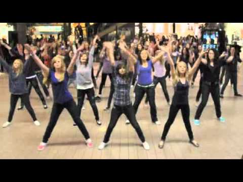 Never Say Never - Bieber Girls Flash Mob Salt Lake City