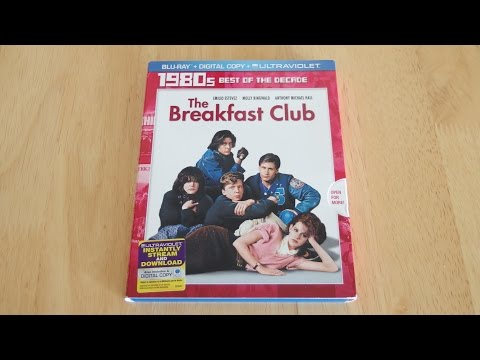 The Breakfast Club Blu-Ray & Digital Copy Unboxing & Review