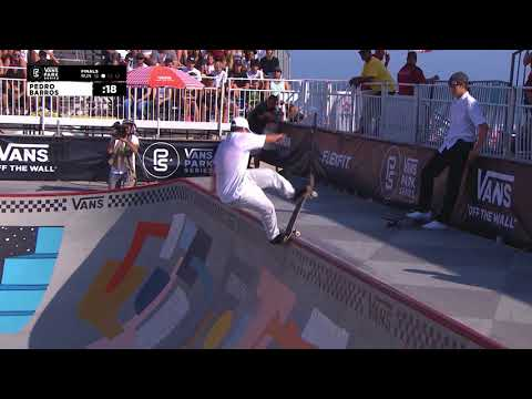 2nd Place - Pedro Barros (BRA) 87.50 | Huntington Beach, USA | 2018 Men's Vans Park Series