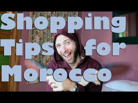 Shopping Tips for Morocco