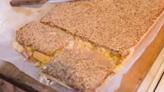 Песочный пирог с грецкими орехами, как запечь самый легкий пирог с песочным тестом [Домашняя Кухня]