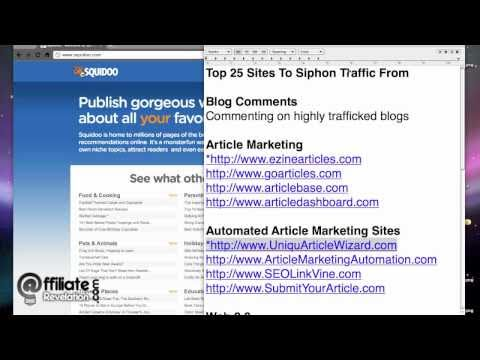 Increase Web Traffic: Top 25 Sites To Siphon Web Traffic From