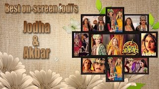 The Jodha Akbar couple
