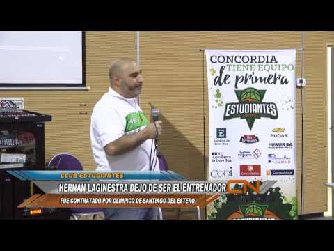 Laginestra dejó Estudiantes para dirigir un equipo de Santiago del Estero.