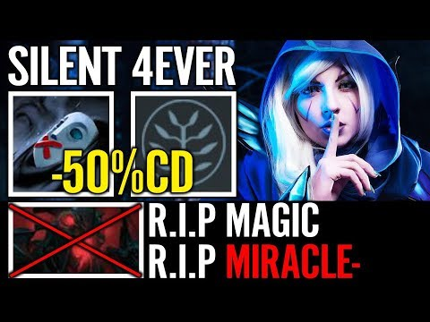 -50% CD Drow Silent 4ever FNG vs MIRACLE SF Dota 2