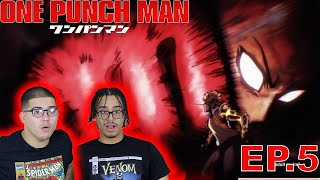 One Punch Man👊 EP. 5 REACTION