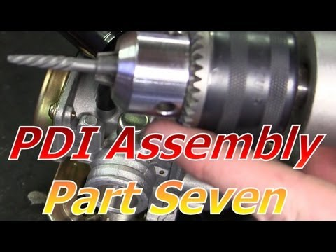 TaoTao ATM50-A1 Chinese Scooter PDI Assembly Part 7 : Unsealing The Stock Carburetor