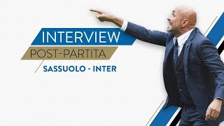 SASSUOLO-INTER 1-0 | Luciano Spalletti interview | Post-match reaction