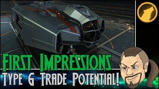 Elite: Dangerous - First Impressions: Type 6 Trade Potential! [Review]